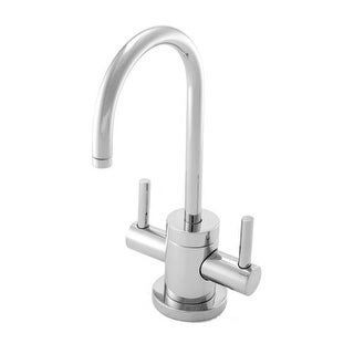 Newport Brass 106 East Linear Double Handle Hot and Cold Water Dispenser - Less Hot Water Tank