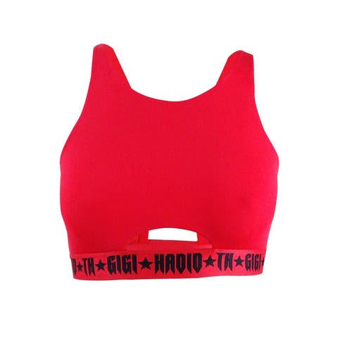 Tommy Hilfiger Women's Cutout Sports Bra