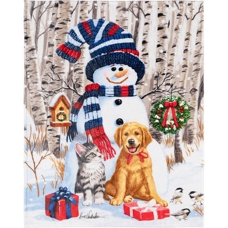 Link to Throw Christmas Snowman & Friends Similar Items in Blankets & Throws
