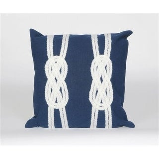 4142/33 Double Knot Navy 20 Sq Pillow