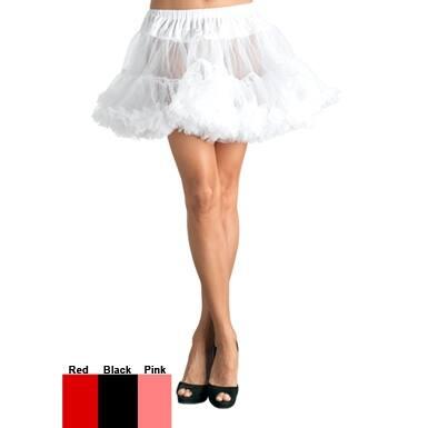Plus Size Tulle Petticoat Black Womens Costumes