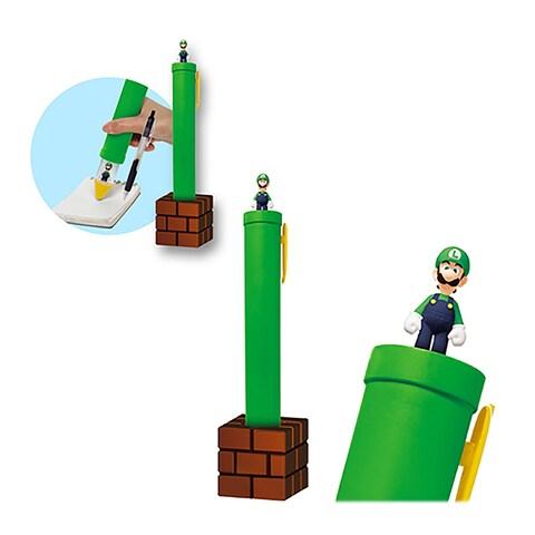 Novelty Super Mario Bros Luigi Jumbo Ballpoint Pen