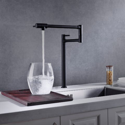 Riley Deck Mount Pot Filler With Accessories - 2x13.46x18.26
