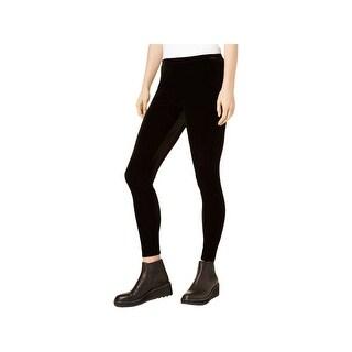 Eileen Fisher Womens Leggings Velvet Ankle