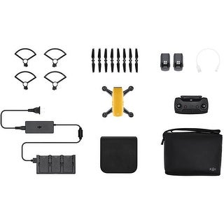 DJI Spark Fly More Combo (Sunrise Yellow) (Open Box)