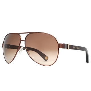 MARC JACOBS Aviator MJ 445/S Unisex 4G6 Brown Brown Gradient Sunglasses - 63mm-11mm-135mm