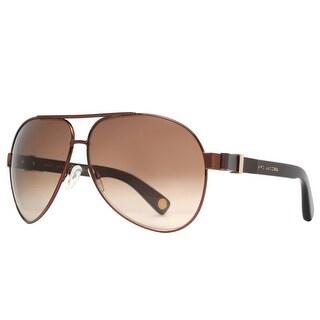 Marc Jacobs MJ 445/S 4G6 Bronze/Brown Gradient Men's Aviator Sunglasses - Brown - 63mm-11mm-135mm