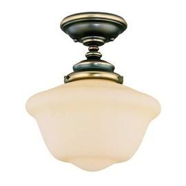 Savoy House 6-9344-1 School House 1 Light Semi Flush Mount Ceiling Fixture
