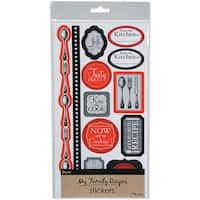 My Family Recipes Stickers -Cutlery