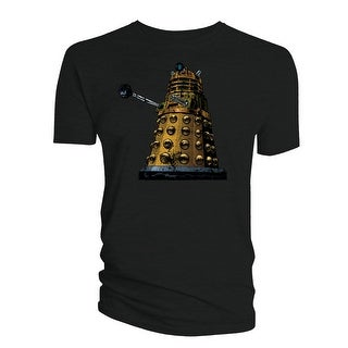 Doctor Who Classic Mens T-Shirt Comic Dalek Distressed