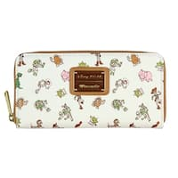 Loungefly x Disney Pixar Toy Story Allover Character Print Zip Around Wallet - One Size Fits most