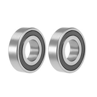 "R14-2RS Deep Groove Ball Bearing 7/8""x1-7/8""x1/2"" Sealed GCr15 Bearings 2pcs - R14-2RS (7/8""x1-7/8""x1/2"")"