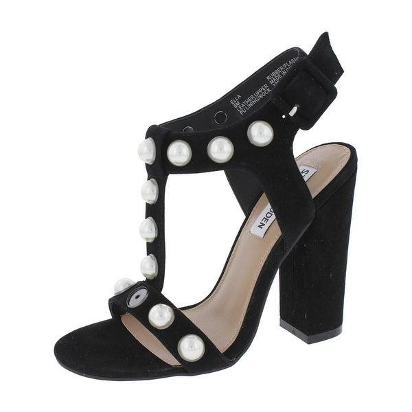 b47c85d5a320 Steve Madden Womens Ella Dress Sandals Open Toe T-Strap - Ships To ...