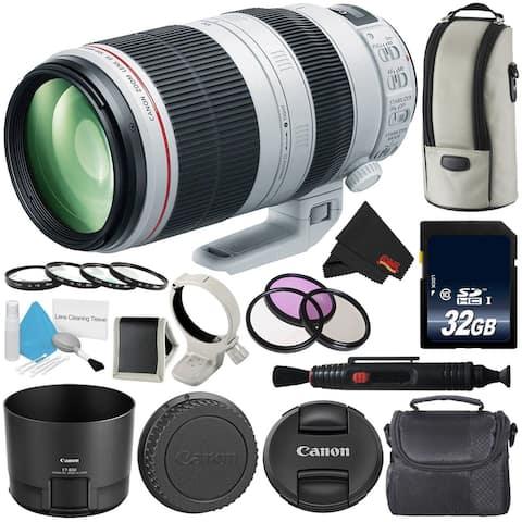 Canon EF 100-400mm f/4.5-5.6L is II USM Lens (Intl Model) Version Professional B