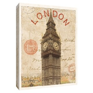 "PTM Images 9-154842  PTM Canvas Collection 10"" x 8"" - ""Letter from London"" Giclee Big Ben Art Print on Canvas"