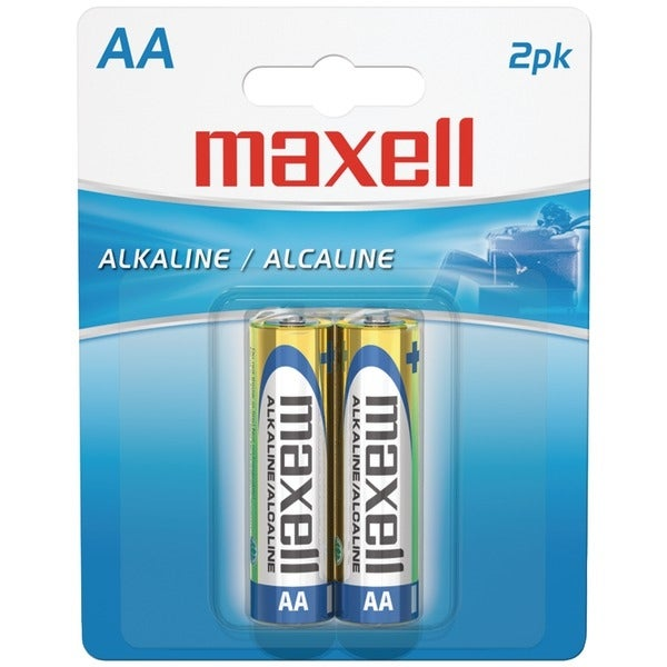 Maxell 723407 - Lr62Bp Alkaline Batteries (Aa; 2 Pk; Carded)