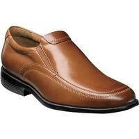 Nunn Bush Men's Dylan Moc Toe Slip On Cognac Leather