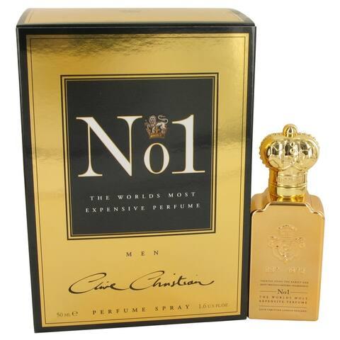 Clive Christian No. 1 by Clive Christian Pure Perfume Spray 1.6 oz