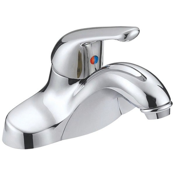 Aqua Plumb 1554010 Chrome Plated Single Handle Bathroom Faucet