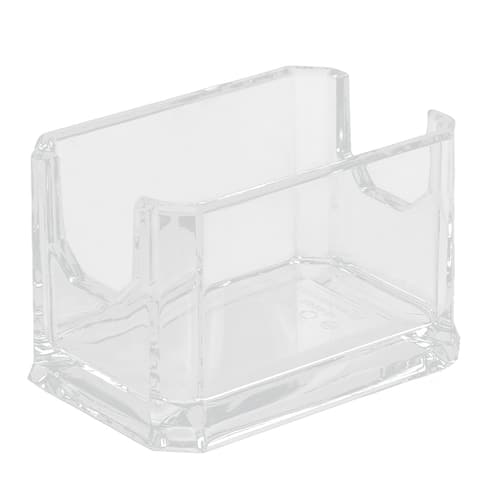 Restaurant Coffee Shop Plastic Sugar Tea Bag Packet Holder Container Clear