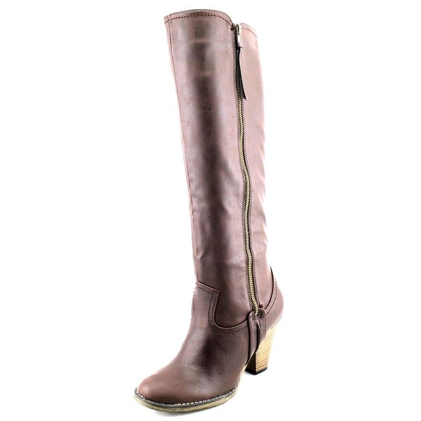 Mia Vagabondd Round Toe Synthetic Knee High Boot