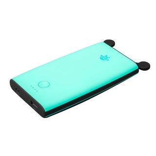 Link to BeezerPower BZR8A0B Portable 10000 mAh Power Bank - Teal/Blue Similar Items in Cell Phone Accessories