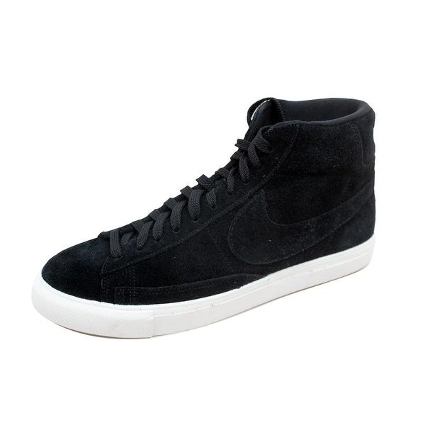 Nike Men's Blazer Mid Black/Black-Summit White 371761-033