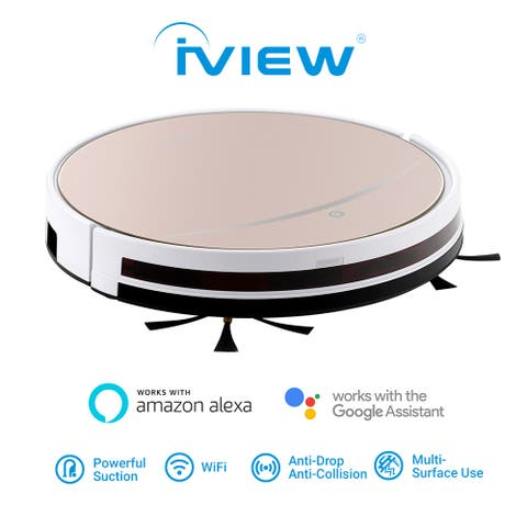 IVIEW 2-in-1 Smart Vacuum - Affordable Smart Robot Vacuum with Floor Mopping