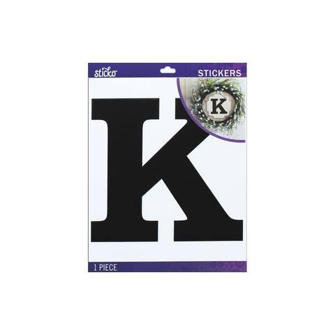 52-90444 ek sticko sticker jumbo basic black monogram k