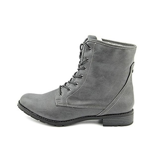 Sporto Julie Synthetic Comabat Ankle Boots