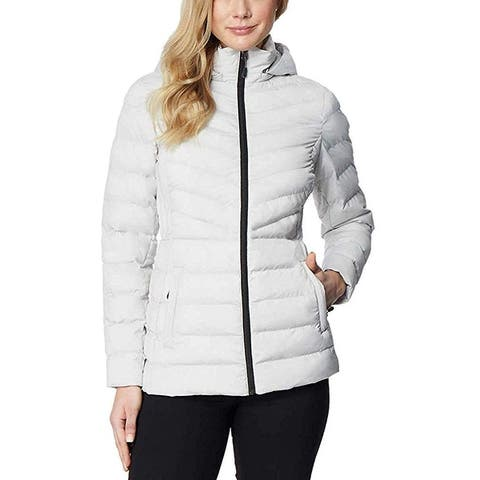 32 Degrees Heat Women's Hooded 4-Way Stretch Jacket