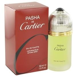 PASHA DE CARTIER by Cartier Eau De Toilette Spray 1.6 oz - Men