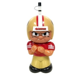 NFL Teenymates Big Sipper Drink Bottle 16oz Character Cup - San Francisco 49ers