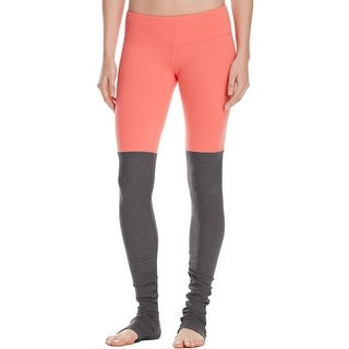 Alo Yoga Womens Goddess Athletic Pants Ribbed Leggings