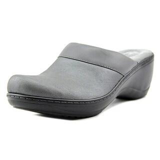 Softwalk MURIETTA Round Toe Leather Clogs