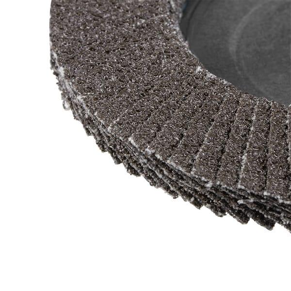 Utoolmart 4 Inch Flap Disc 80 Grits Grinding Wheels Sanding Discs Abrasive Papers 1Pcs