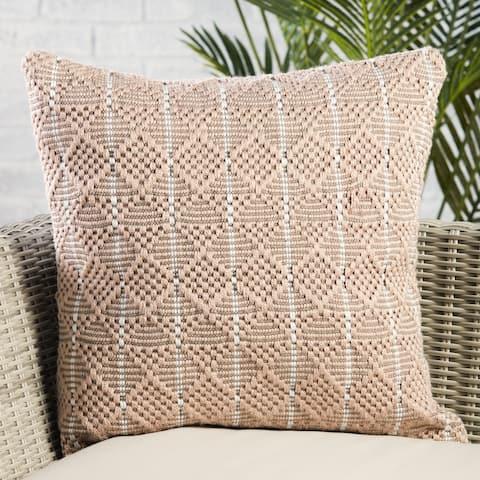 Lindy Indoor/ Outdoor Geometric Pillow