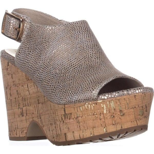 Donald J Pliner Rosie Platform Sandals, Platino - 7 us