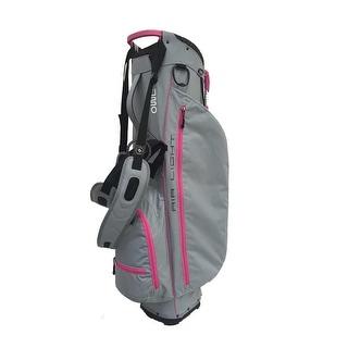 Air light SC stand bag Light gray/Pink