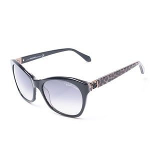 Roberto Cavalli Women's Asdu Sunglasses Black - Small