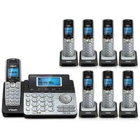 Vtech DS6151 2-Line Expandable Cordless Phone with DS6101-7 Extra Handsets