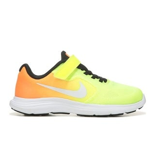 NIKE Boy's REVOLUTION 3 Running - volt