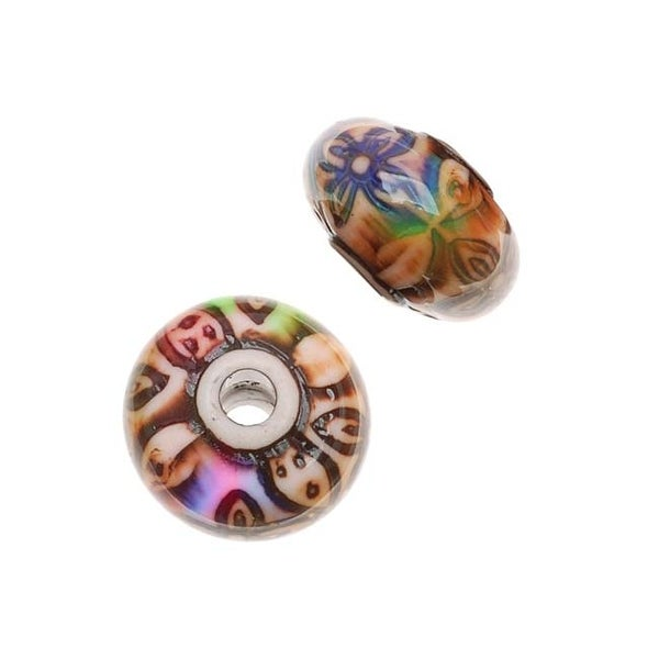 Mirage Color Changing Mood Beads - Rosy-Posy Round Spacer Beads 12mm (2)