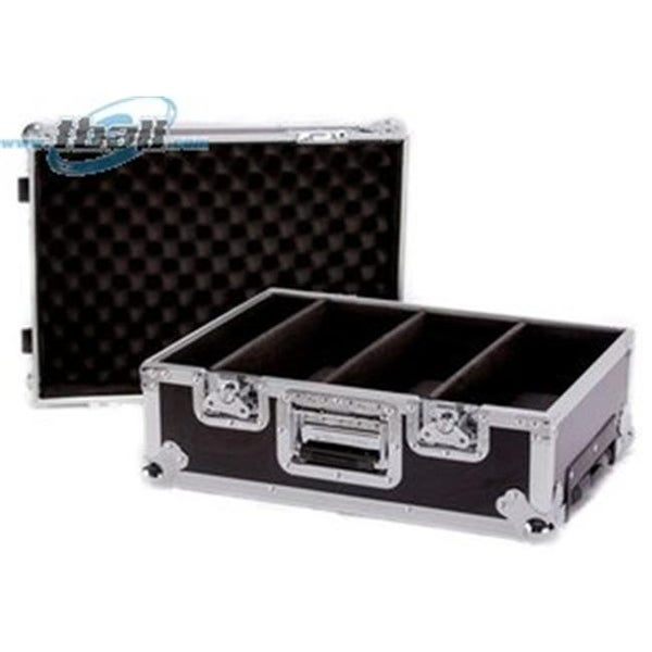 Deejay LED Fly Drive Heavy Duty Deluxe CD Case for 100 CDs with