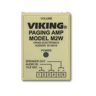 Viking Electronics M2W Paging Products For Electronic Key Phones