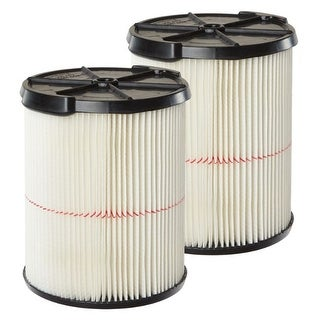 Link to Craftsman  Red Stripe  Replacement Cartridge Filter  2 pc. Similar Items in Vacuums & Floor Care