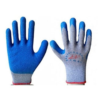 Work Universal Protection Glue Gloves - Blue