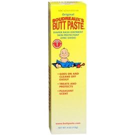 Boudreaux's Butt Paste Tube, Diaper Rash Ointment 4 oz