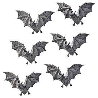 Design Toscano Halloween The Vampire Bats of Castle Barbarosa Wall Sculptures: Set of 6