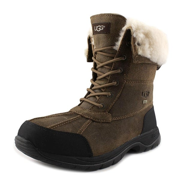 Ugg Australia Butte Men Round Toe Synthetic Brown Snow Boot